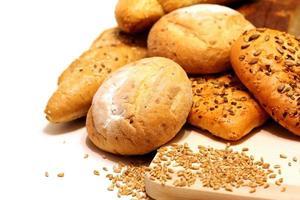 sortiment av bröd foto
