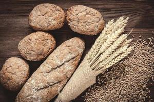bröd och råg foto