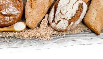 bröd och rullar foto