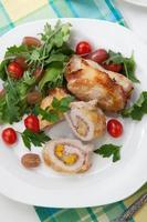 kyckling prosciutto roulade foto