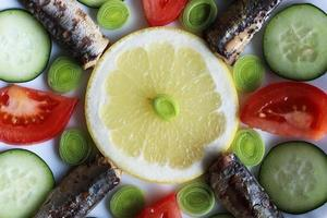 hälsosam mat foto