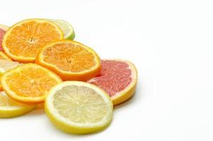 sortiment av citrus foto