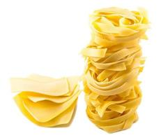 olika torr pasta foto