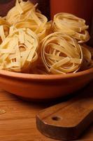pasta närbild foto