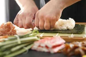 japansk restaurang, sushi