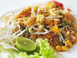 Padthai, Thailand traditionell mat foto