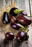 äggplantor foto