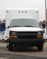 leverans lastbilar foto