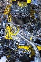 högpresterande motor foto