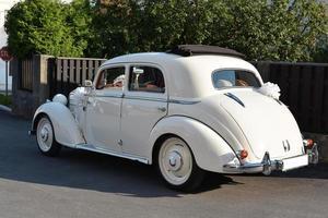 bröllop bil foto