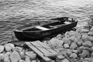 båt, närbild foto