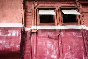 vintage tåg foto