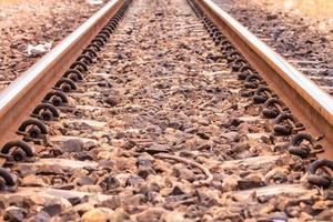 järnvägsspår foto