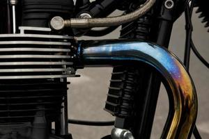 motorcykel motor foto