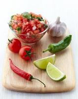 salsa dopp foto