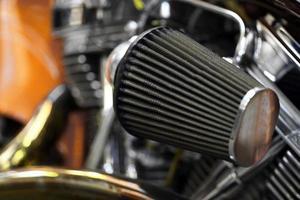 motorcykel luftfilter foto