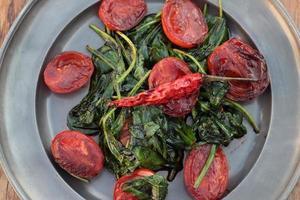 stekt grönsaker. foto