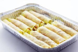 matlagning bakad cannelloni foto
