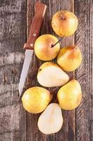 färsk päron foto