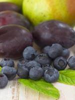 färsk frukt foto