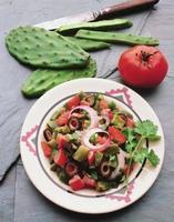 hälsosam mexikansk sallad foto