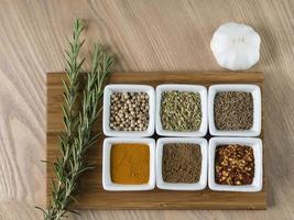curry kryddor foto