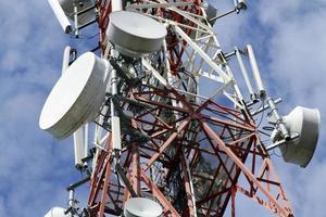 telekommunikationstorn foto