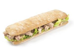 tonfisksmörgås foto