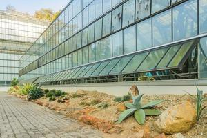 växthus för odling av tropiska växter. foto
