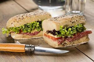 hälsosam smörgås_03 foto