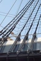 riggning av ett segelfartyg