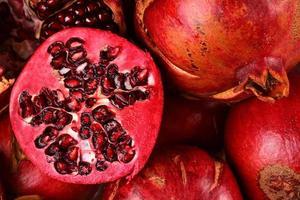 granatäpple mycket foto