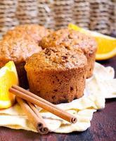 morot- och marmeladmuffins foto