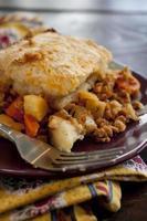 engelska cottage pie foto