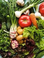gröna och grönsaker