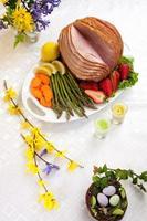 skinka för påsk foto