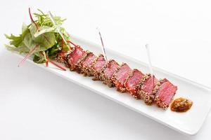tonfisk förrätt foto