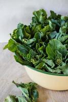 grönkål grönsak foto