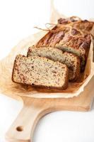 glutenfritt bröd med kokosmjöl. bioprodukt foto