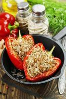 fylld paprika foto