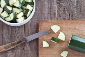 zucchini bitar foto