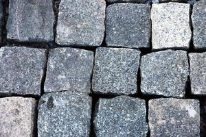 fyrkantiga former bakgrund av sten. foto