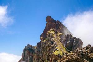 vandringssvanspassage - bergstrappor foto