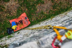 klättring sten foto