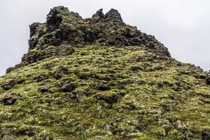 vulkaniska bergformationer