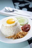 tradition nasi lemak foto