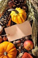 tacksägelse med kort