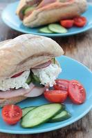 smörgås. foto
