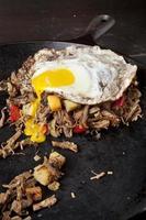 corned beef hash foto
