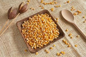 majs som naturlig ingrediens foto